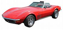 1971 Chevrolet Corvette Stingray, Convertible, 350, V-8, 270 Hp, 4 Speed Manual Transmission, 74,929 Miles, Cragar Chrome Wheels and...