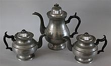 Pewter Tea and Coffee Service, 11