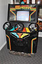 Atari Super Sprint Video Game, three person play, m.47300, serial. UR03979, working order