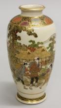 Satsuma Vase of Three Men