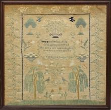 Catharine Custer 1836 Sampler