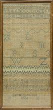 Sarah Goodson 1762 Sampler