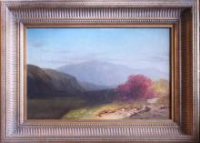 Sanford Robinson Gifford (1823-1880, Massachusetts/New York) Peaceful Country