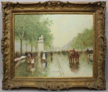 Andre Gisson (1921-2003, New York, Connecticut, France) Arc de Triomphe