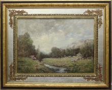 John Henry Twachtman (1853-1902, New York/Connecticut/Massachusetts) Landscape