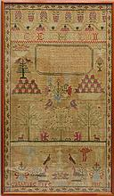 Cathrine Fife 1815 Sampler