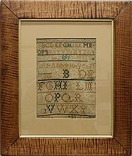 Mary Salt 1793 Marking Sampler