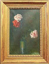 Enneking, Joseph Eliot, 1881-1942, Massachusetts, Floral Still Life. Oil on Canvas.