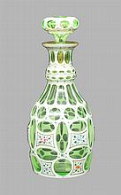 Cased Glass Decanter