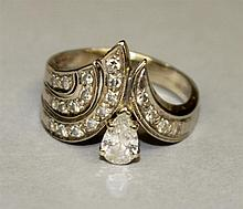 14KW Gold, Diamond Ring