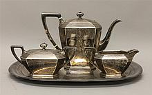 Gorham Sterling Silver Coffee Set with Reed & Barton Tray