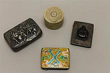 Grouping of Snuff Boxes