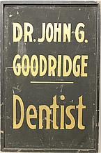 Dentist Trade Sign