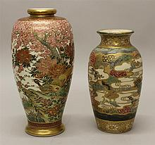 Two Satsuma Vases