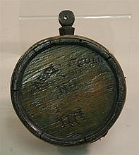 Revolutionary War Wood Drum Canteen-ID'ed