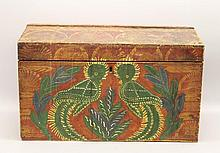 Paint-Decorated Chest
