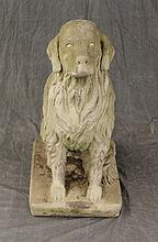 Concrete Statue of a Dog, 32