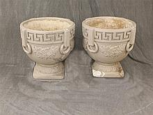 Pair of Concrete Urns, Loss 24