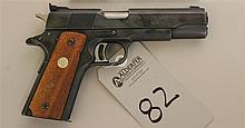 Colt MK IV Series 70 Gold Cup National Match semi-automatic pistol. Cal. 45. 5