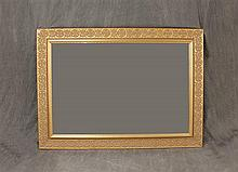 Vertical / Horizontal Decorative Gold Frame Mirror, 31