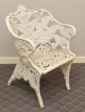 Victorian Cast Iron Garden Chair