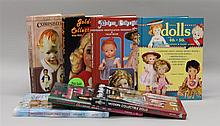 LOT OF (7) MINT HARD COVER DOLL BOOKS: