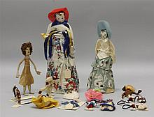 LOT OF 1930's-1940's NOVELTY DOLLS - (2)