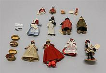 LOT OF 1930's-1940's NOVELTY DOLLS - (2) RAMP WALKERS, BLACK DOLLS, OTHER MISC. DOLLS. Ramp Walkers - Made in USA: US Soldier and Bl...