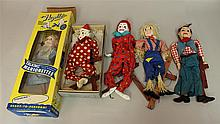 LOT OF (5) HAZELLE'S MARIONETTES: (2) NON-TALKING - #801