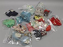 VOGUE FAMILY LOT - (15) BAGS OF TAGGED 1957-1960's