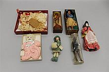 LOT OF 1930's-40's  DOLLS, FIGURES. (English?) 9