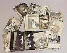 LOT OF 150+  1930's DOLL AND OTHER RELATED PHOTOS. 1930's Photos which were taken of the collection of Olive O. Jury, Shamokin, PA. ...