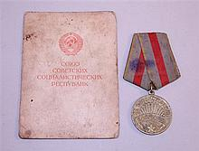 Soviet Medal for the Liberation of Warsaw - ID'ed