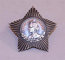 Soviet Order of Order of Suvorov, 3rd Class