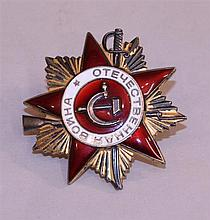 Soviet Order of the Patriotic War, 1st Class
