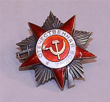 Soviet Order of the Patriotic War, 2nd Class