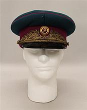Soviet Military General's Visor Hat