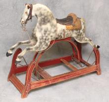 White Painted Rocker Horse
