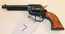 Ruger New Model Single-Six single action revolver. Cal. 22. 5-3/8