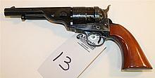 Cimarron Firearms Company A. Uberti Model 1860 Richards-Mason Conversion single action revolver. Cal. 45 S&W Schofield. 5-1/2