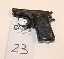 Beretta Model 950BS semi-automatic pistol. Cal. 22 Short. 2-1/4