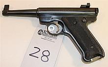 Ruger Standard Model semi-automatic pistol. Cal. 22 LR. 4-3/4