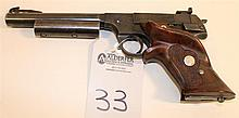 Hi-Standard Model H-D Military semi-automatic pistol. Cal. 22 LR. 6-1/2