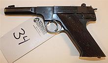 Hi-Standard Model H-D Military semi-automatic pistol. Cal. 22 LR. 3-3/8