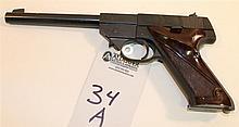 High Standard Sport-King semi-automatic pistol. Cal. 22 LR. 6-3/4