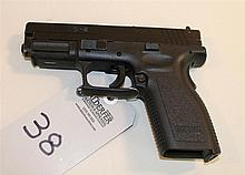 Springfield Armory XD-9 semi-automatic pistol. Cal. 9 mm. 4
