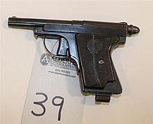 Le Francais Staff Officer Police Model semi-automatic pistol. Cal. 6.35 mm. 3-1/2