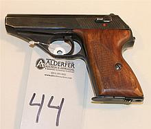 Mauser HSc semi-automatic pistol. Cal. 7.65 mm. 3-1/4