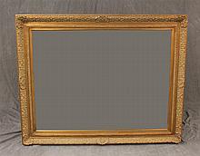Mirror, French Gilt Carved Frame, 58 1/2