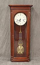 Howard Miller Regulator Wall Clock, Cherry Finish, 38